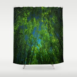 Reaching the stars Shower Curtain