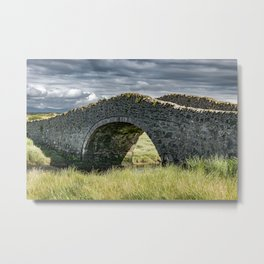 Eighteenth Century Bridge on Isle of Anglesey Metal Print
