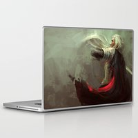 thranduil Laptop & iPad Skins featuring Thranduil by nlmda