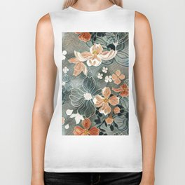 Fading Colors Biker Tank