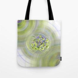 Atom Flowers #13 Tote Bag