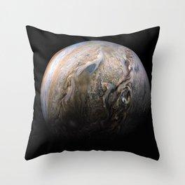 Planet Jupiter Deep Space Probe Telescopic Photograph No. 3 Throw Pillow