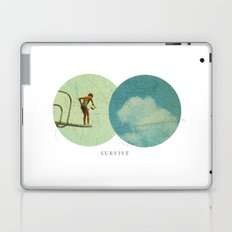 Survive | Collage Laptop & iPad Skin