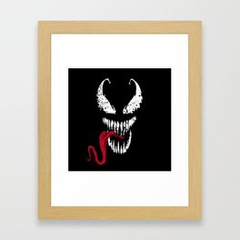 Symbiote Framed Art Print