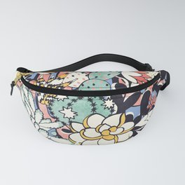 Blue Sky Succulents Fanny Pack