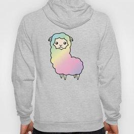 Rainbow llama Hoody