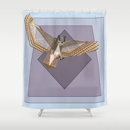 Primed Talons Shower Curtain