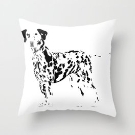Always Spotted Throw Pillow