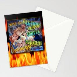 Guy's Gone Hot Tubbin' Stationery Cards