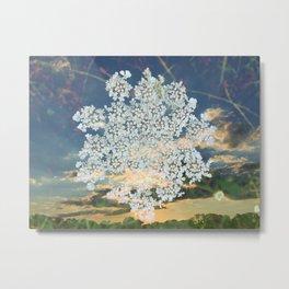 Summer Snowflake Metal Print
