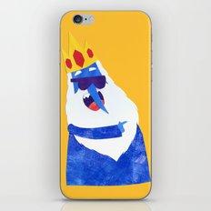 Ice King looks Crazy Seeyak! Collage iPhone & iPod Skin