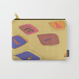 Pieces of Meces Carry-All Pouch