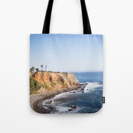 Point Vicente Lighthouse (color version) Tote Bag