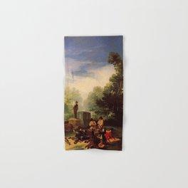 Francisco de Goya - Asalto al coche Hand & Bath Towel
