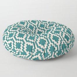 Mapuche Jade Blush Floor Pillow