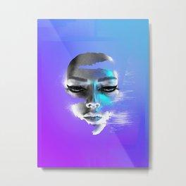 Gliturr Eyeliner No.1 Metal Print