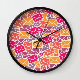 Mail Wall Clock