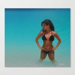 A La Playa Sirena Canvas Print