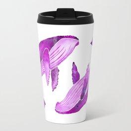 Humpback Whales | Pretty in Pink Travel Mug