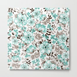Mint relaxation Metal Print