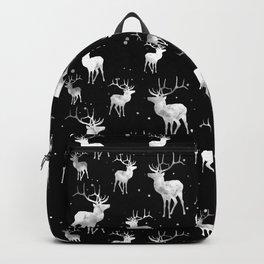 NOIR DEER PATTERN Backpack