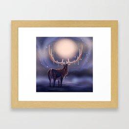 Fantasy Deer Framed Art Print