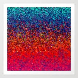 Glitter Dust Background G172 Art Print