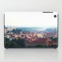 prague iPad Cases featuring Prague by Fallon Chase