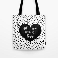 AYNIL Heart Tote Bag