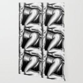 Feeling Your Warmth b&w Wallpaper
