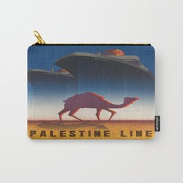 Vintage poster - Palestine Line Carry-All Pouch