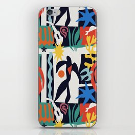 inspired to Matisse (black) iPhone Skin