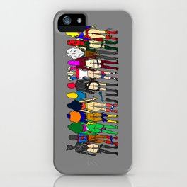 Superhero Butts - Girls - Row Version - Superheroine iPhone Case