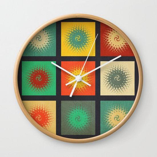 Textures/Abstract 90 Wall Clock
