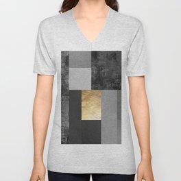 Geometric art IV Unisex V-Neck
