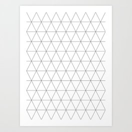 Basic Isometrics I Art Print