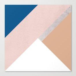 Winter Geometry Canvas Print