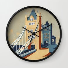 Tower Bridge Wall Clock