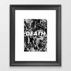 M33 - DEATH Framed Art Print