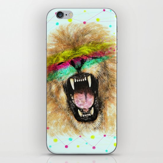 Lion II iPhone & iPod Skin