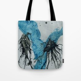 Ink monster- pair Tote Bag