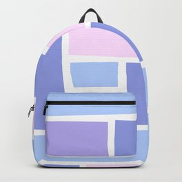 Lilac Mozaic Backpack