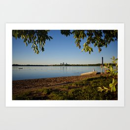 Lake Calhoun (Bde Maka Ska) at Twilight Art Print