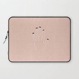 Minimalist Hand Collection: Dirt Under Nails Laptop Sleeve