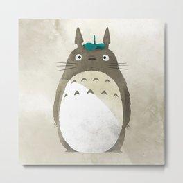 Totoro's illustration Metal Print