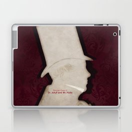 Robert Louis Stevenson, Dr. Jekyll and Mr. Hyde - Minimalist Literary Design Laptop & iPad Skin