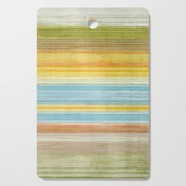 Colorbands Yellowstone Yellow Cutting Board