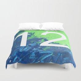 Blue & Green, 12, No. 4 Duvet Cover