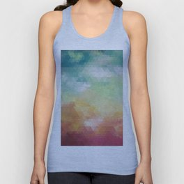 Abstract Composition 550 Unisex Tank Top
