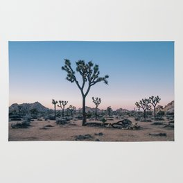 Joshua Tree at Sunset Rug